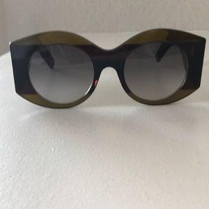 NWOT Gucci Urban Web Block Diva Sunglasses